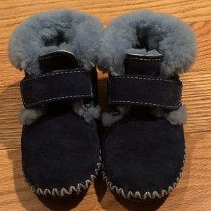 LL Bean Toddler Wicked Good Slippers, Mariner Blue